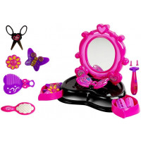 Kozmetikai tükör kiegészítőkkel Inlea4Fun DRESSING TABLE