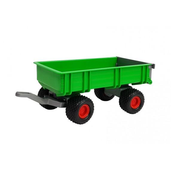 Inlea4Fun FARMER 8817 Játék traktor utánfutóval