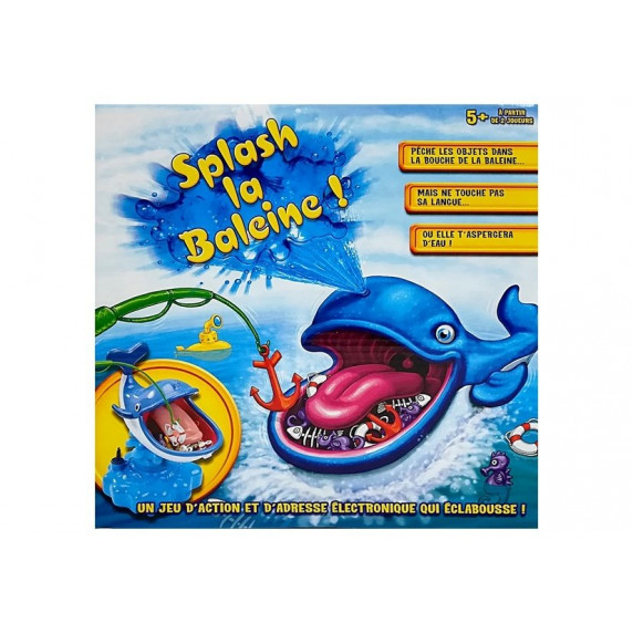 Inlea4Fun SPLASH LA BALEINE horgász játék - bálna