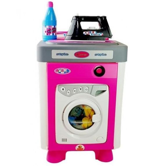 Inlea4Fun CARMEN Játék mosógép vasalóval