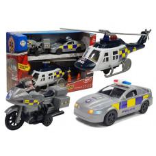 Inlea4Fun SOS STATION Rendőrségi jármű készlet Előnézet