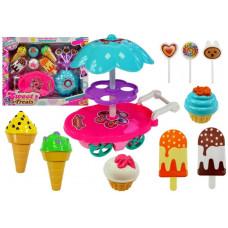Inlea4Fun SWEET TREATS Fagylaltos és édességes kocsi Előnézet