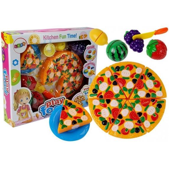 Szeletelhető pizza Inlea4Fun PLAY FOOD