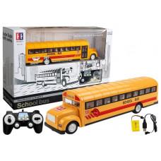 Inlea4Fun RC SCHOOL BUS Távirányítós iskolabusz Előnézet