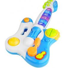 Inlea4Fun DINAMIC Interaktív játék gitár - Kék Előnézet