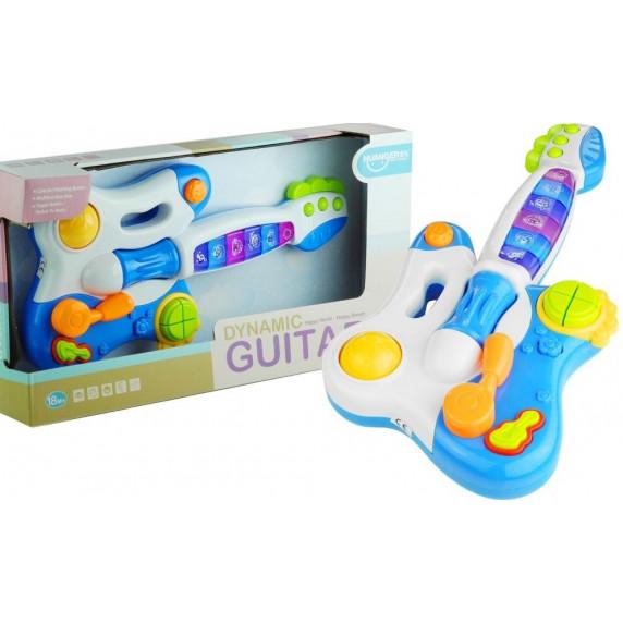 Interaktív játék gitár Inlea4Fun DINAMIC - Kék