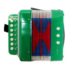 Inlea4Fun Gyerek harmonika - zöld Előnézet