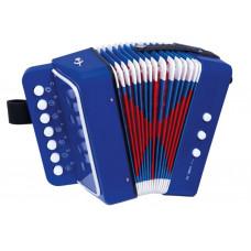 Inlea4Fun Gyerek harmonika - kék Előnézet