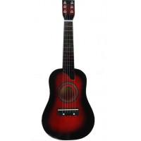 Inlea4Fun Fa játék gitár - cseresznye