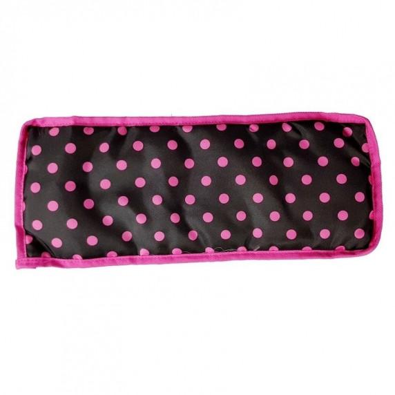 ALICA BUGGY játék babakocsi - rózsaszín-fekete