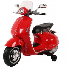 Elektromos kismotor Inlea4Fun VESPA GTS 300 - Piros