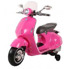 Elektromos kismotor Inlea4Fun VESPA GTS 300 - Rózsaszín