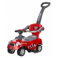 Lábbal hajtós gyermekjármű 3az1-ben Inlea4Fun COUPE - piros