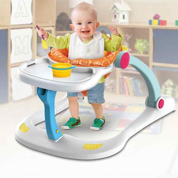 Multifunkcionális bébikomp járássegítő 4az1-ben HUANGER