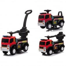 Inlea4Fun JC008 Tűzoltó gyerekjármű és elektromos kisautó - Piros Előnézet