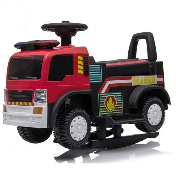Inlea4Fun JC008 Tűzoltó gyerekjármű és elektromos kisautó - Piros