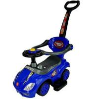 Lábbal hajtós gyermekjármű Inlea4Fun Super Ride 3az1-ben - kék