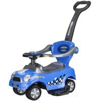 Lábbal hajtós gyermekjármű 3az1-ben Inlea4Fun COUPE - kék