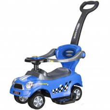 Lábbal hajtós gyermekjármű 3az1-ben Inlea4Fun COUPE - kék Előnézet
