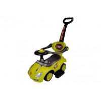 Inlea4Fun Lábbal hajtós gyermekjármű Super Ride 3 az 1-ben - sárga
