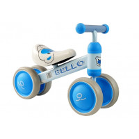 Lábbal hajtós kismotor Inlea4Fun BELLO - kék