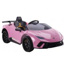 Inlea4Fun LAMBORGHINI Huracan Elektromos kisautó - rózsaszín Előnézet