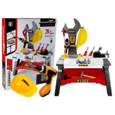 Szerszámos asztal kiegészítőkkel Inlea4Fun SMART TOOLS 44 darabos Előnézet