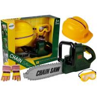 Játék láncfűrész kiegészítőkkel Inlea4Fun CHAIN SAW