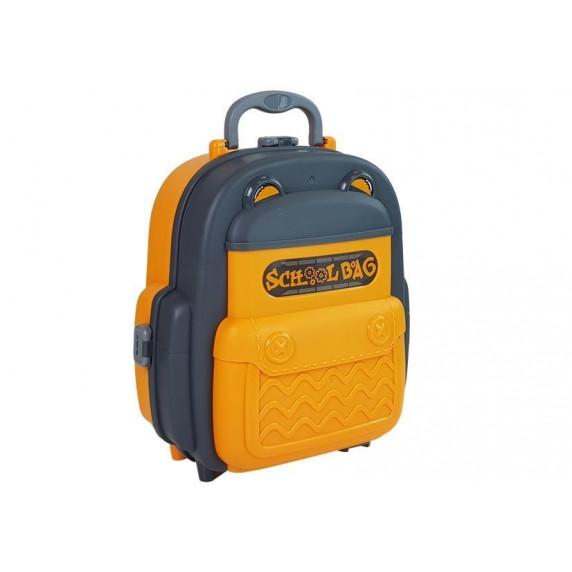 Szerszámos asztal műanyag hátizsákban Inlea4Fun SCHOOL BAG