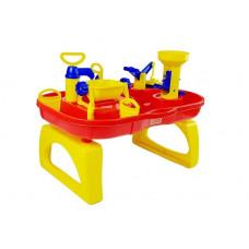 Vizes játékasztal Inlea4Fun BATH WORLD - sárga/piros Előnézet
