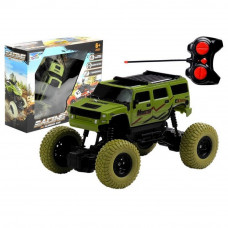Távirányítós terepjáró autó RC Monster Truck - zöld Előnézet