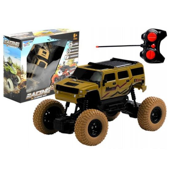 Távirányítós terepjáró autó RC Monster Truck - bézs