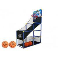 Kosárlabda szett palánkkal és tárolóval 142 cm Inlea4Fun HX SPORTS