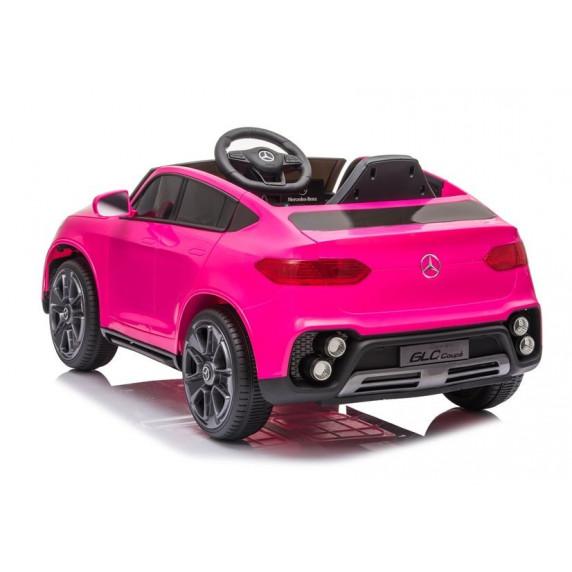 Elektomos kisautó Mercedes GLC Coupe BBH-013 - rózsaszín