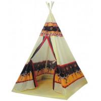 Teepee Indián Gyerek sátor 60 db színes labdával