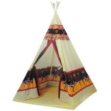 Teepee Indián Gyerek sátor 60 db színes labdával Előnézet