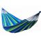 InGarden függőágy 100x236 cm - kék/zöld csíkos