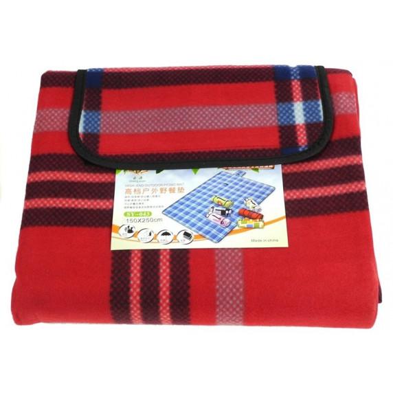 InGarden Piknik takaró 150x250 cm - piros 2798