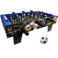 Asztali foci csocsó asztal 69x37x24 cm Inlea4Fun TABLETOP FOOTBAL XJ803-1
