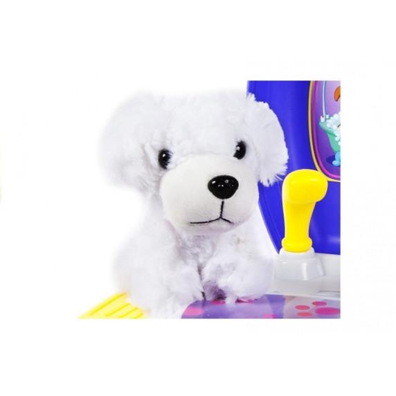 Inlea4Fun DREAM Kutya szépségszalon szett bőröndben - kék