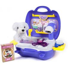 Inlea4Fun DREAM Kutya szépségszalon szett bőröndben - kék Előnézet