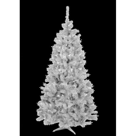 Inlea4Fun fehér műfenyő ELIZA 180 cm + állvány - fehér