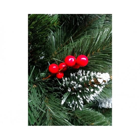 Inlea4Fun havas műfenyő vörösáfonyával IZA 220 cm + állvány