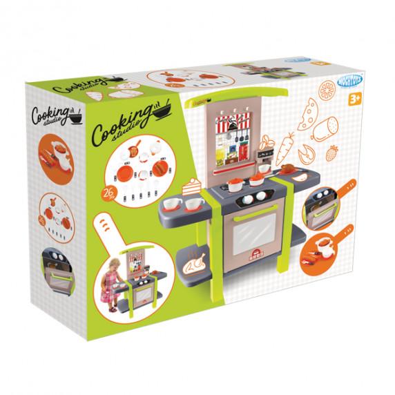 Játékkonyha 26 darabos MOCHTOYS Cooking Studio 11854