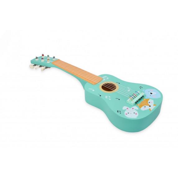 Fa játék gitár állatkák Adam Toys