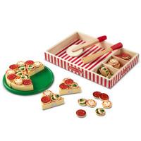 Fa szeletelhető pizza feltétekkel