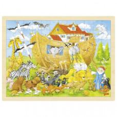 Fa puzzle Goki - Noé bárkája Előnézet