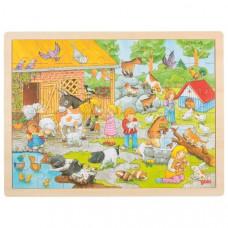 Fa puzzle Goki - farm Előnézet