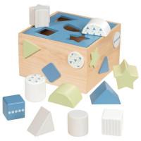 Formabedobós fa játék Goki - kék