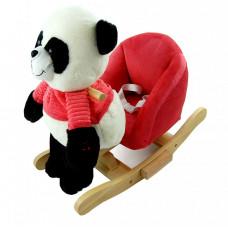 Hintafotel Nefere - panda - piros Előnézet